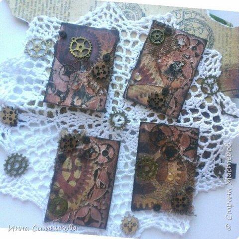 """Серия называется """"Время идет"""" и состоит из 4 карточек. Одну карточку оставлю себе, остальные с удовольствием обменяю)) фото 1"""