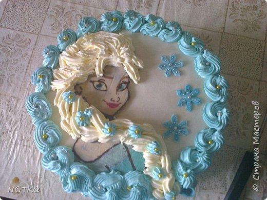 Тортик Холодное Сердце для племянницы фото 1