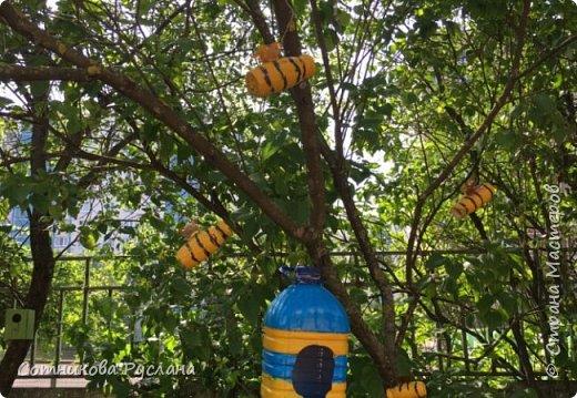 Дружная семейка из цветочных горшков. фото 23