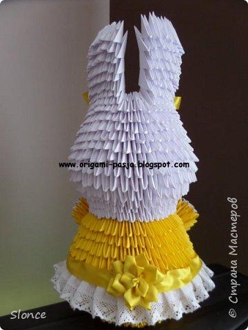 Zajączek wysokość 50 cm. фото 2