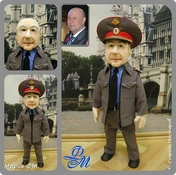 Товарищ майор - портретная кукла выполнена к ЮБИЛЕЮ. рост 65 см фото 3