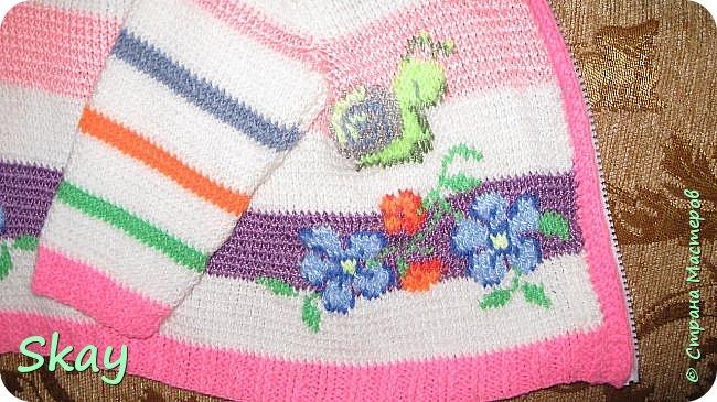 Кофточка для девочки 2 лет. фото 2