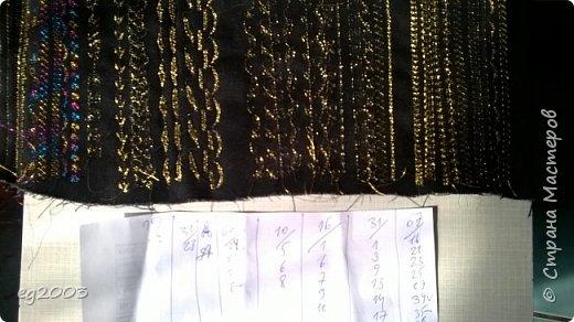 Вышивание на швейной машине золотой нитью!!! Очень легко и без специальной иглы. А теперь главная идея: нужно все перевернуть!!! В шпульку золотую нить, а в иглу нить цвета ткани.  фото 1