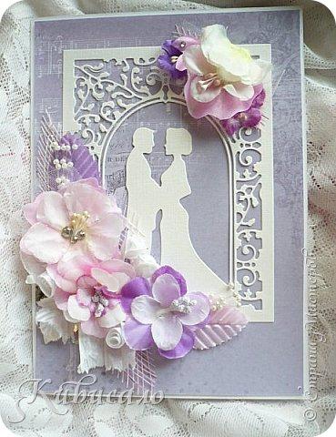 Открытки на свадьбу делала первый раз!!! фото 9