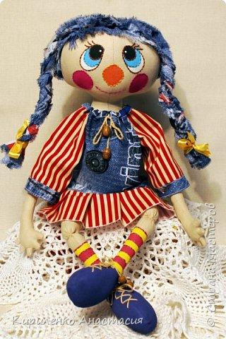 Добрый вечер! Моя новая куколка, она сшита по МК Светланы Хачиной. Выкройку немного изменила, давно хотела сшить такую. фото 3