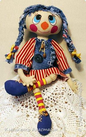 Добрый вечер! Моя новая куколка, она сшита по МК Светланы Хачиной. Выкройку немного изменила, давно хотела сшить такую. фото 4