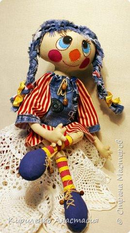Добрый вечер! Моя новая куколка, она сшита по МК Светланы Хачиной. Выкройку немного изменила, давно хотела сшить такую. фото 1