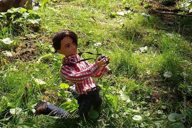 1 августа мы провели первую кукло-встречу . Встречались мои куклы и дочины с куклами Татьяны и Ксюши Воробьевых  фото 22