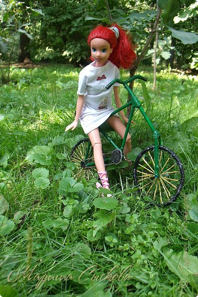 1 августа мы провели первую кукло-встречу . Встречались мои куклы и дочины с куклами Татьяны и Ксюши Воробьевых  фото 27