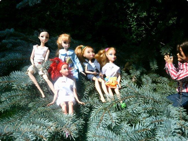 1 августа мы провели первую кукло-встречу . Встречались мои куклы и дочины с куклами Татьяны и Ксюши Воробьевых  фото 52