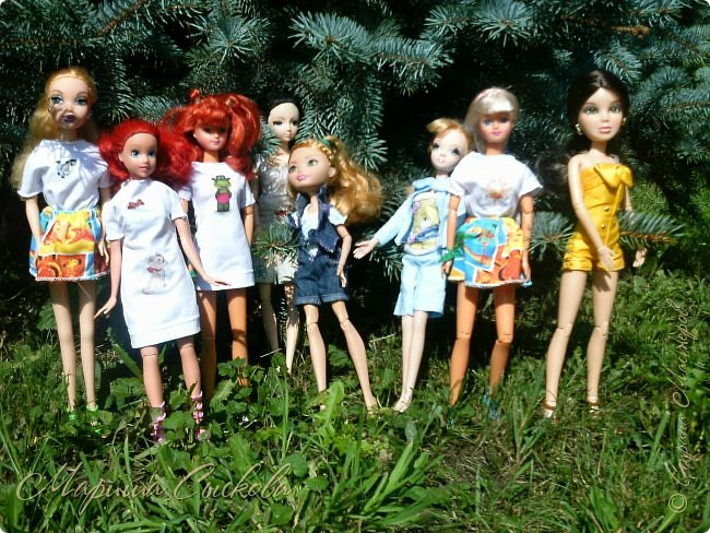 1 августа мы провели первую кукло-встречу . Встречались мои куклы и дочины с куклами Татьяны и Ксюши Воробьевых  фото 54