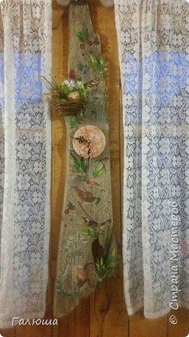 часы из старой доски
