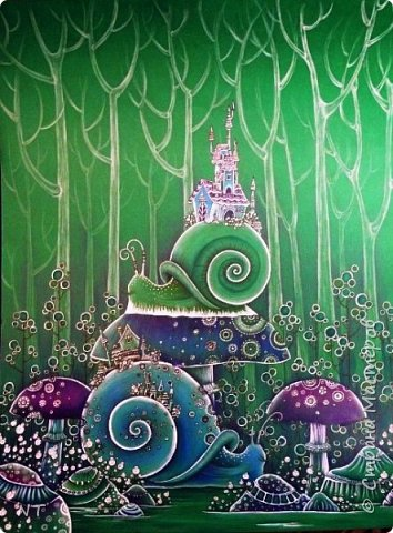 """""""Лесное чудо"""" Автор Макарова Варвара, Волгоград. фото 1"""