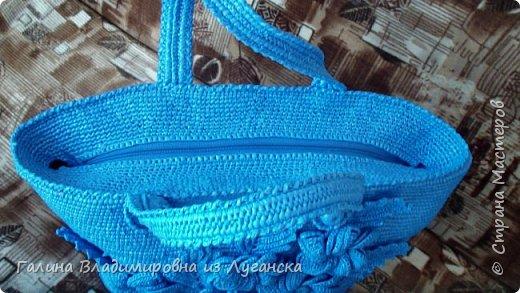 """Добрый день творческие люди """"Страны мастеров""""!!!!! Очень скучала. Давно не была и вот предлагаю новую свою сумочку из полиэтиленовых пакетов!!!!  фото 2"""