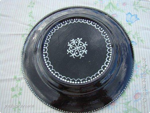 Тарелки и точечная роспись фото 4