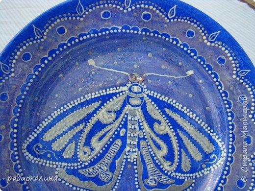 Тарелки и точечная роспись фото 6