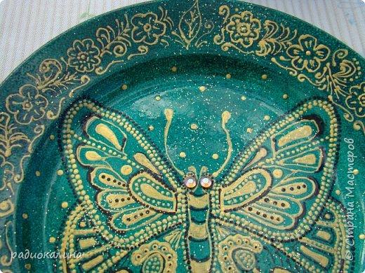 Тарелки и точечная роспись фото 9