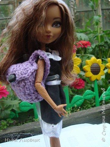 """Всем привет!!! Сегодня я сдаю работу на конкурс """"Назад в школу"""", и да, у меня появилась новенькая Зовут Кедра Вуд!!! фото 2"""