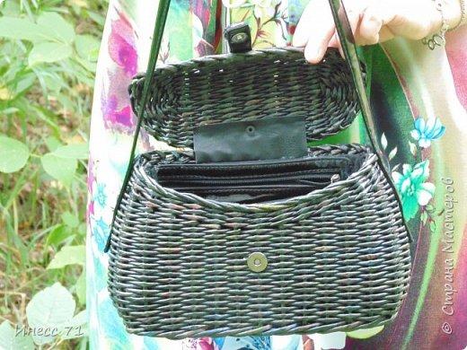 Сплелась вот такая сумочка у меня, пока первая, надеюсь не последняя. фото 2