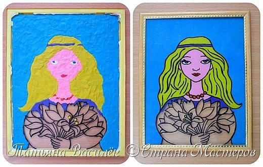 """""""Цветы для Мамочки"""" (обратная аппликация пластилином). Работа для конкурса к Дню Матери, выполненная одним из наших воспитанников. фото 7"""