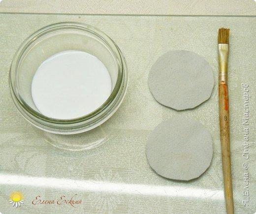 Ромашка из кожи без применения специальных инструментов. МК фото 8