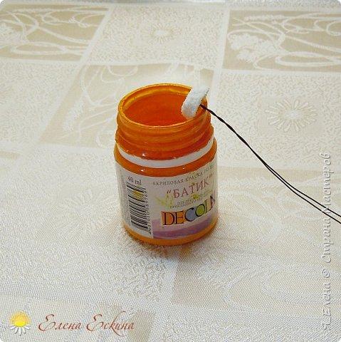 Ромашка из кожи без применения специальных инструментов. МК фото 17