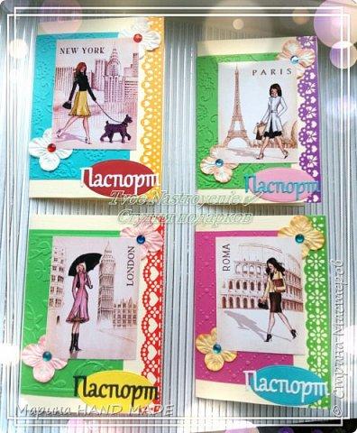 """Обложки на паспорт """"Страны мира"""" фото 1"""