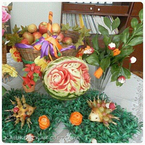 Пошли арбузы и вот такие в этом году вырезалочки получаются фото 5