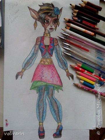 Это последняя часть рисунков, ближайшее время, я если и буду рисовать кукол, то с другого мультика. Выложу не все, а только те, что мне больше нравятся и некоторые перерисованные из первых двух блогов. фото 13