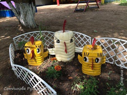 Дружная семейка из цветочных горшков. фото 19