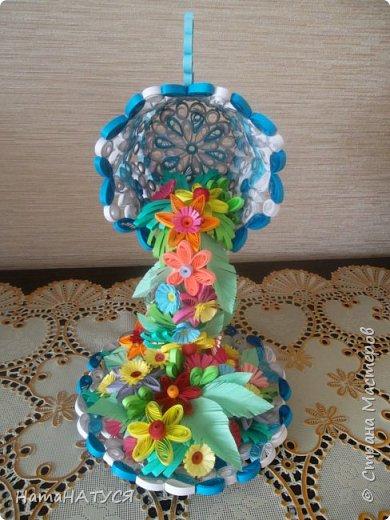Добрый день всем!!! Вдохновившись работой Наташи Орловой (http://stranamasterov.ru/node/956568?c=favorite), я тоже решила создать такую цветочную чай-паузу. Далее поэтапный фотоотчёт. фото 6