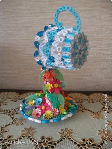 Добрый день всем!!! Вдохновившись работой Наташи Орловой (http://stranamasterov.ru/node/956568?c=favorite), я тоже решила создать такую цветочную чай-паузу. Далее поэтапный фотоотчёт. фото 7