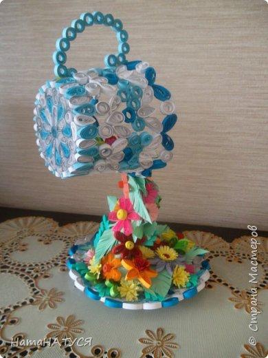 Добрый день всем!!! Вдохновившись работой Наташи Орловой (http://stranamasterov.ru/node/956568?c=favorite), я тоже решила создать такую цветочную чай-паузу. Далее поэтапный фотоотчёт. фото 8
