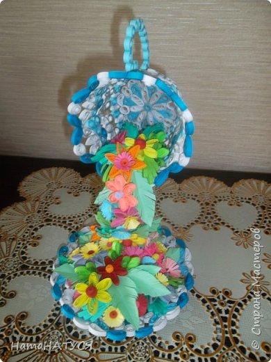 Добрый день всем!!! Вдохновившись работой Наташи Орловой (http://stranamasterov.ru/node/956568?c=favorite), я тоже решила создать такую цветочную чай-паузу. Далее поэтапный фотоотчёт. фото 10