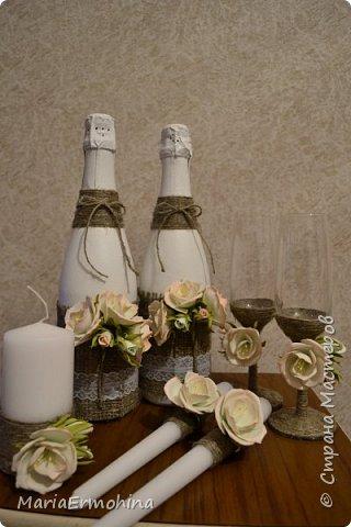 Вот и сделала я самый главный заказ в своей жизни))) Аксессуары к нашей свадьбе!!!  1. Букет-дублер фото 3