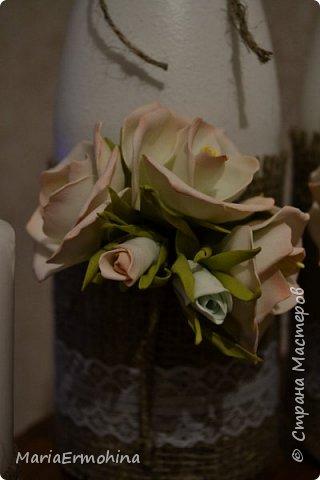 Вот и сделала я самый главный заказ в своей жизни))) Аксессуары к нашей свадьбе!!!  1. Букет-дублер фото 4