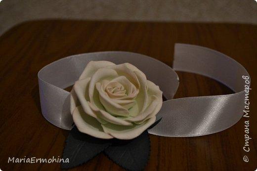 Вот и сделала я самый главный заказ в своей жизни))) Аксессуары к нашей свадьбе!!!  1. Букет-дублер фото 5