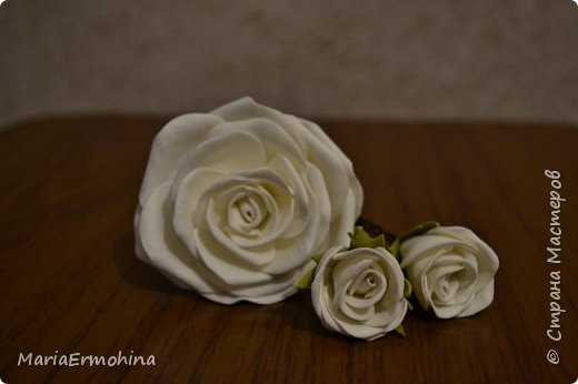 Вот и сделала я самый главный заказ в своей жизни))) Аксессуары к нашей свадьбе!!!  1. Букет-дублер фото 6