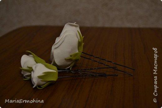 Вот и сделала я самый главный заказ в своей жизни))) Аксессуары к нашей свадьбе!!!  1. Букет-дублер фото 7