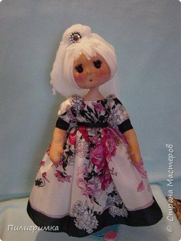 Кукла сшита из бифлекса. фото 5