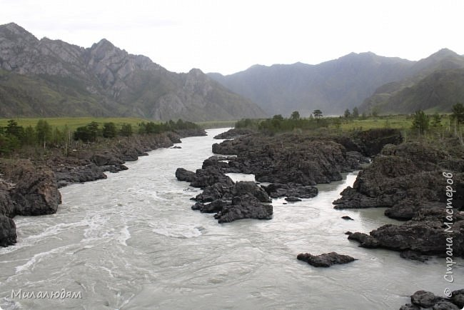 Всем здравствуйте! Продолжаем путешествие. Мы приехали в Чемал и сразу на мой любимый берег. Мы всегда по приезду приходим на берег Катуни и перед отъездом мы тоже всегда с ним прощаемся. А сегодня я пришла с ним поздороваться. фото 59