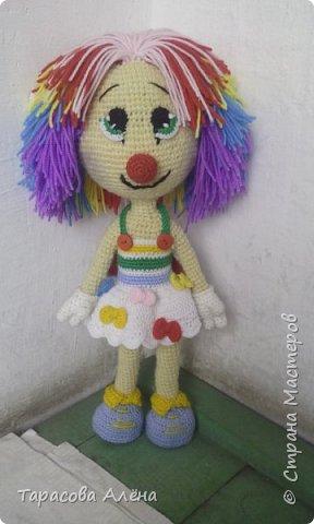 Всем привет, в этом блоге я расскажу и покажу как создавалась эта милая кукла-клоунесса))) фото 1