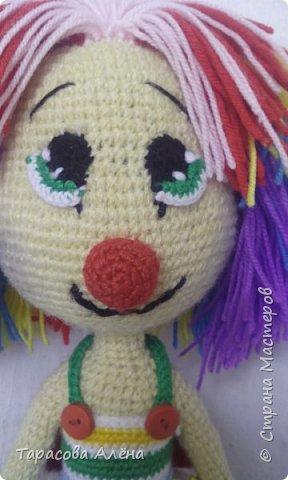 Всем привет, в этом блоге я расскажу и покажу как создавалась эта милая кукла-клоунесса))) фото 3
