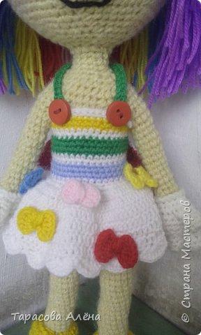 Всем привет, в этом блоге я расскажу и покажу как создавалась эта милая кукла-клоунесса))) фото 4