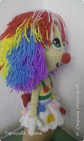 Всем привет, в этом блоге я расскажу и покажу как создавалась эта милая кукла-клоунесса))) фото 7