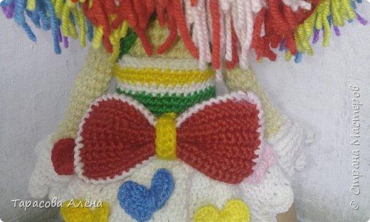 Всем привет, в этом блоге я расскажу и покажу как создавалась эта милая кукла-клоунесса))) фото 6