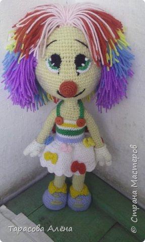 Всем привет, в этом блоге я расскажу и покажу как создавалась эта милая кукла-клоунесса))) фото 2
