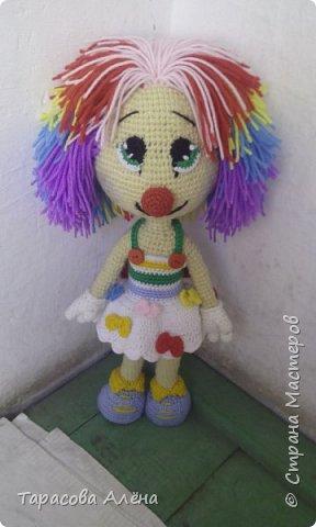 Всем привет, в этом блоге я расскажу и покажу как создавалась эта милая кукла-клоунесса))) фото 10