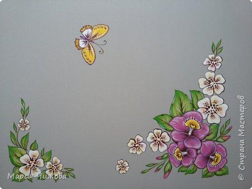 Фрагмент росписи: малышка Ева попросила пчелку))) фото 6