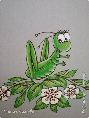 Фрагмент росписи: малышка Ева попросила пчелку))) фото 10